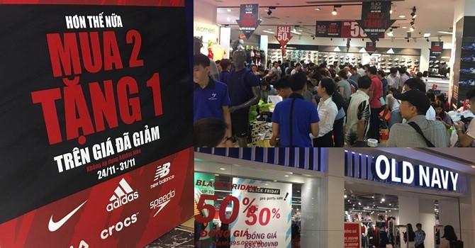 Thị trường 24h: Tắc đường, trung tâm thương mại chật cứng người ngày Black Friday