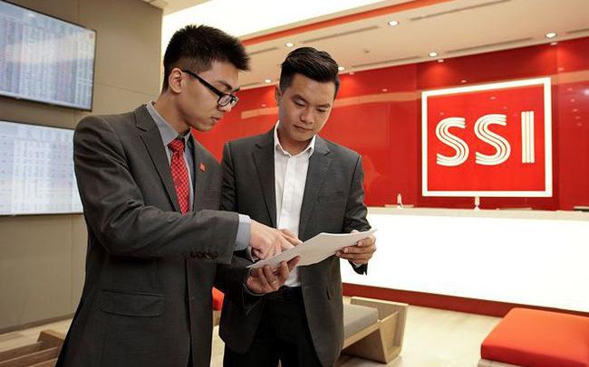 SSI (mẹ) báo lãi hơn 1.400 tỷ đồng trong năm 2018, dư nợ margin gần 6.000 tỷ đồng