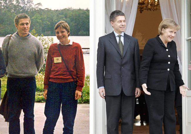 """Người đàn ông kín tiếng phía sau bà Merkel: Giáo sư hóa học tránh xa """"ánh đèn sân khấu"""""""