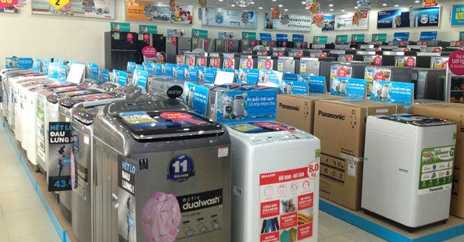 Hàng điện máy nguy cơ đồng loạt tăng giá