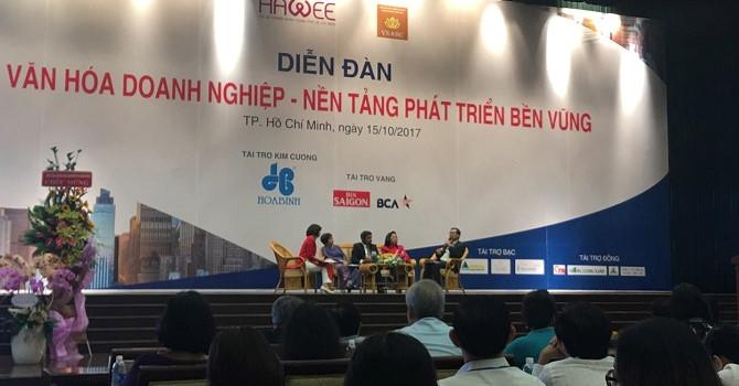 Chủ tịch KIDO Trần Kim Thành: Nếu không có văn hóa, doanh nghiệp không thể tồn tại