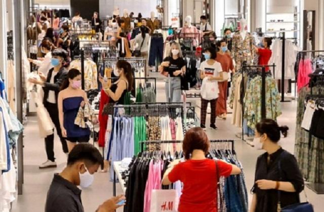 Tổng mức bán lẻ hàng hóa và doanh thu dịch vụ tiêu dùng tháng 5 tăng26.9%