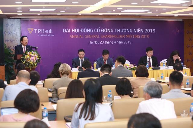 ĐHCĐ TPBank: Mục tiêu 3,200 tỷ đồng lãi trước thuế năm 2019