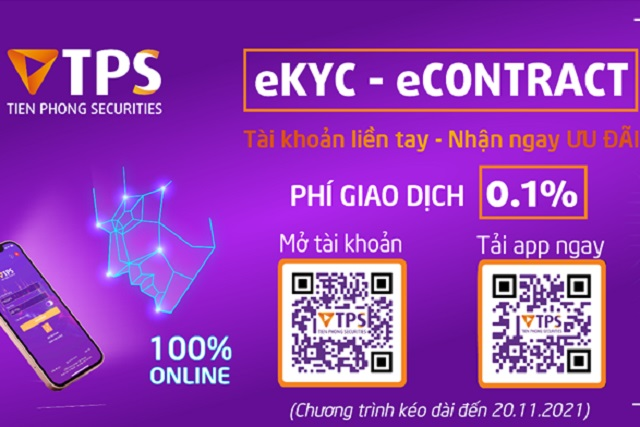 Triển khai mở tài khoản trực tuyến 100%, TPS nâng cao trải nghiệm khách hàng