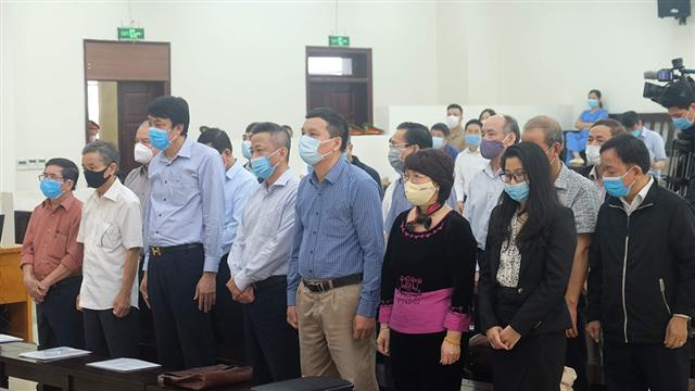Đại án Gang thép Thái Nguyên: VKS cho rằng không có căn cứ thay đổi tội danh