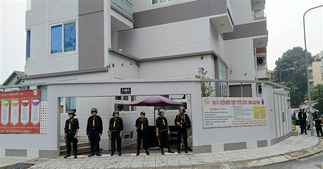 Hàng chục cảnh sát đang khám xét công ty con Alibaba tại TP.HCM