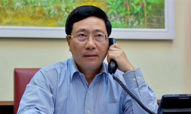 Ngoại trưởng Nhật chúc mừng Việt Nam kiểm soát được Covid-19