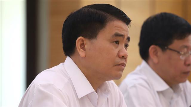 Ông Nguyễn Đức Chung chính thức bị bãi nhiệm Chủ tịch UBND TP.Hà Nội