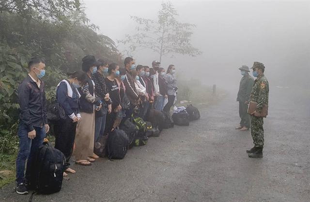 Phát hiện hàng trăm người nhập cảnh trái phép trong bốn ngày