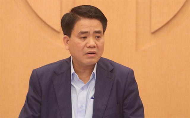 Tạm đình chỉ công tác Chủ tịch TP Hà Nội Nguyễn Đức Chung