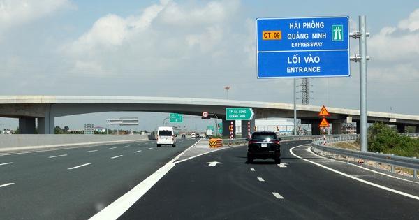 Thông suốt với Hạ Long, tiền thu ở đường cao tốc Hà Nội - Hải Phòng tăng 62%