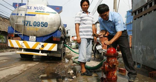 TP.HCM: Giá nước cao nhất chưa tới 4.500 đồng/m3