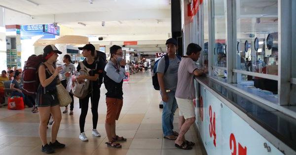 TP.HCM không tăng giá vé xe đò Tết Dương lịch 2020