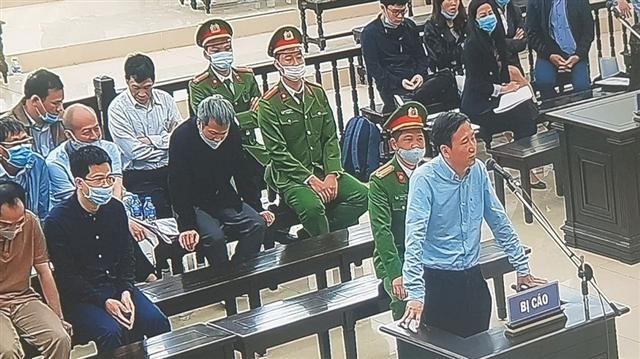 Trịnh Xuân Thanh khai có lãnh đạo Tổng cục cảnh sát góp tiền mua đất Tam Đảo?