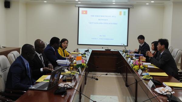 Việt Nam - Bờ Biển Ngà hoàn tất vòng 1 Hiệp định tránh đánh thuế hai lần