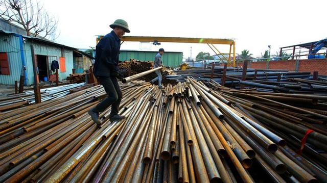 Việt Nam chi hơn 6 tỉ USD nhập khẩu sắt thép