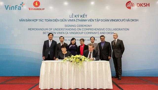 Vingroup ký kết hợp tác chiến lược với Tập đoàn DKSH