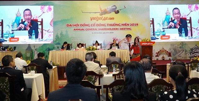 ĐHĐCĐ Vietjet: Mở rộng đường bay quốc tế, tăng 3-5 tàu bay/năm