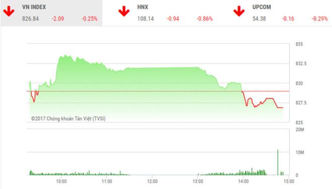 Phiên chiều 20/10: Hàng trăm mã giảm điểm, ROS không cứu được thị trường