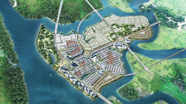 Nam Long mua thêm vốn góp từ Keppel Land trong dự án Đồng Nai Waterfront City