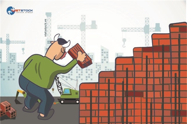 """Giá thép """"bốc đầu"""" có phá tan thành trì mà doanh nghiệp xây dựng vun đắp trong quý 1?"""